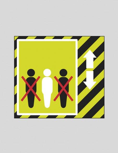Gráfica límite personas COVID-19