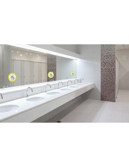 Vinilo baño COVID-19 general