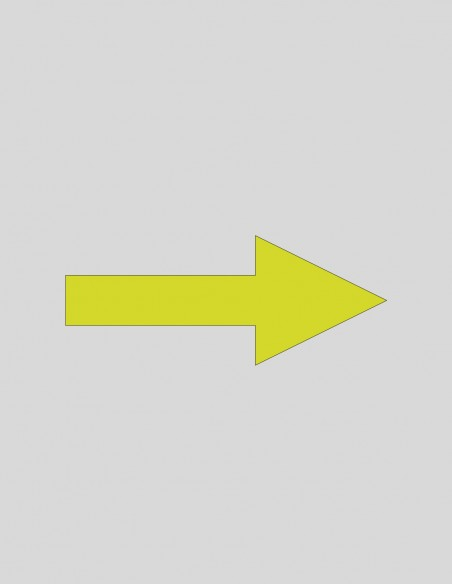 Vinilo flechas de dirección COVID-19 gráfica