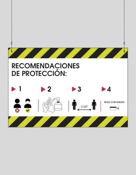 Elementos colgantes COVID-19 castellano