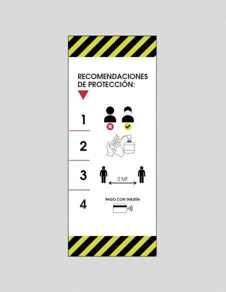 Roll up recomendaciones COVID-19 castellano